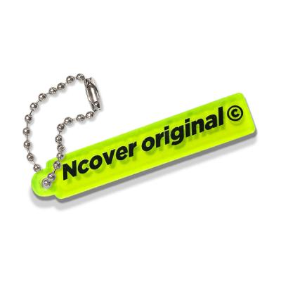 Rectangle original-Neon green(key ring)
