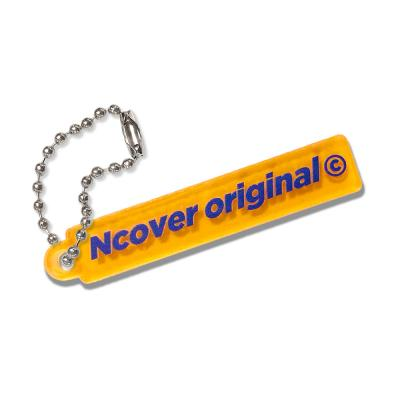 Rectangle original-orange(key ring)