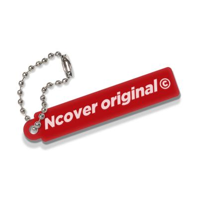 Rectangle original-red(key ring)