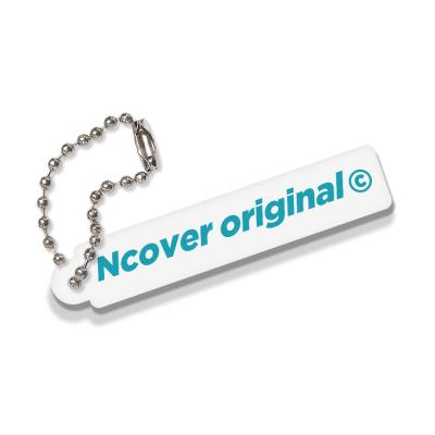 Rectangle original-white(key ring)
