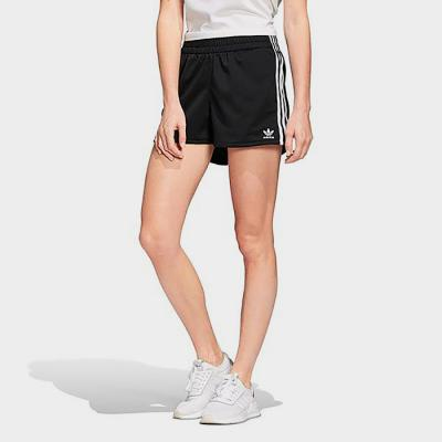 (FM2610) S STR SHORT-BLACK/WHITE