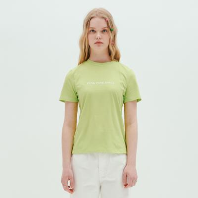 LOGO T-SHIRTS_LIME