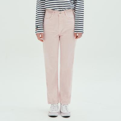 COLOR WIDE PANTS_PINK