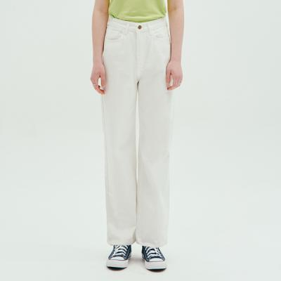 BASIC WIDE PANTS_WHITE