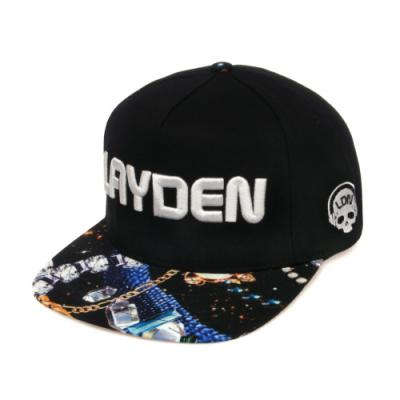 3DIMENSION LOGO SNAPBACK-GALAXY JEWEL