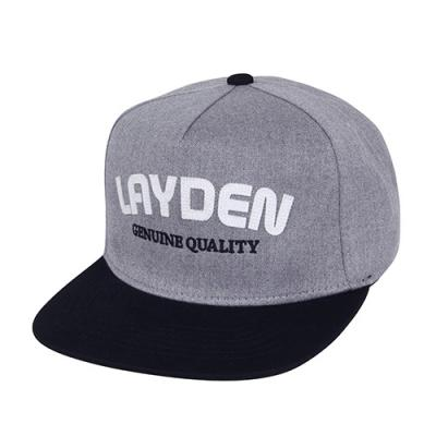 PATCH LOGO SNAPBACK-LIGHT GRAY