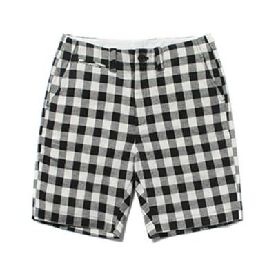 CHECK SHORTS [BLACK]