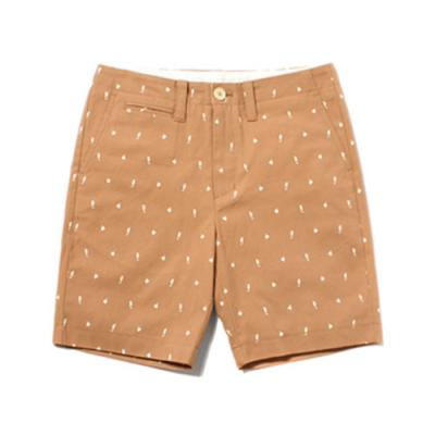 FISH PATTERN SHORTS [BEIGE]