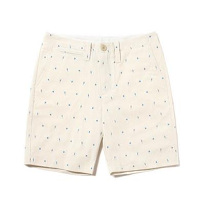 FISH PATTERN SHORTS [IVORY]