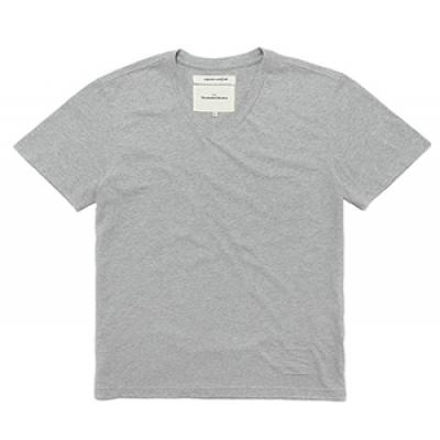 V-NECK T-SHIRTS [GRAY]