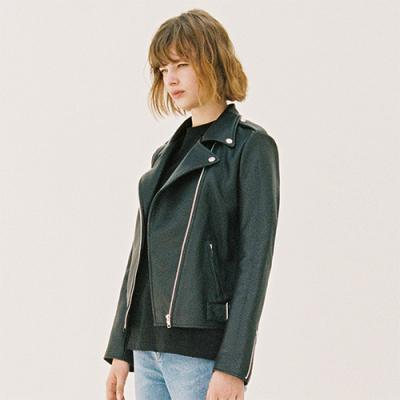 WOMENS RIDERS JACKET [BLACK](GAWL00)