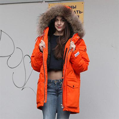 N3B DOWN PARKA-ORANGE