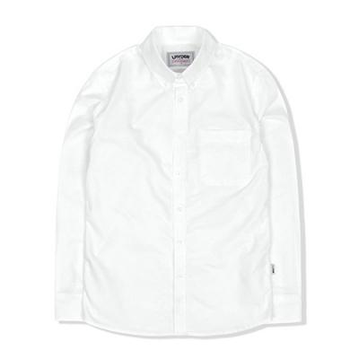 BUTTON DOWN OXFORD SHIRT - WHITE