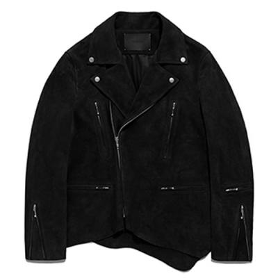 CUT OFF TERRY RIDERS JACKET GS [BLACK]