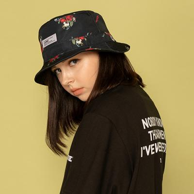 ROSES BUCKET HAT-REVERSIBLE