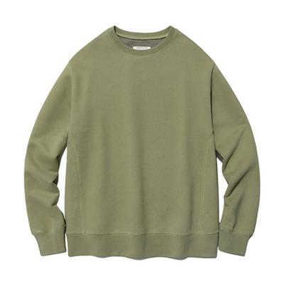 [ISVT21] DYED COLOR CREWNECK IS [BEIGE]