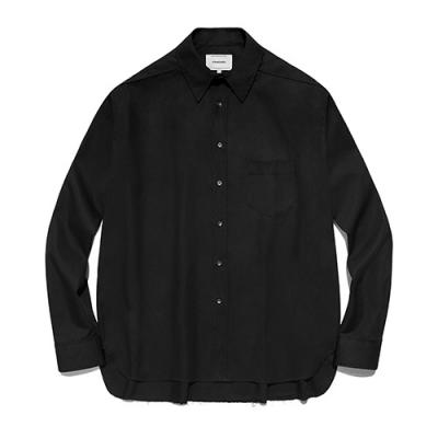 [ISVS03] CUT OFF SHIRTS IS [BLACK]