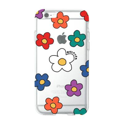 Color flower dot(jelly case)